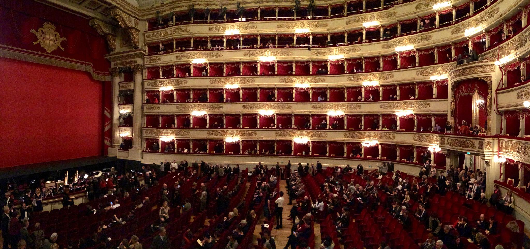 Il Teatro alla Scala e Makno: ricerca sull'immagine del teatro - Makno